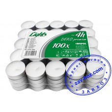 Свеча чайная, 100 шт