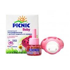 Комплект от комаров PICNIC BABY (фумигатор + жидкость 45 ночей)