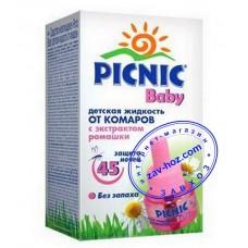 Жидкость от комаров PICNIC Baby, 45 ночей