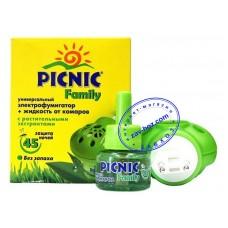 Комплект от комаров PICNIC (фумигатор + жидкость 45 ночей)