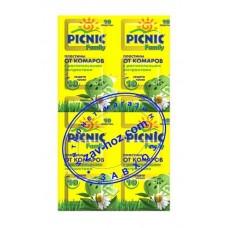 Пластины от комаров PICNIC Family