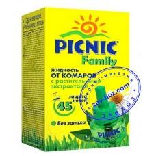 Жидкость от комаров PICNIC Family, 45 ночей