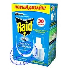 Жидкость от комаров RAID, 30 ночей