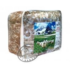 Одеяло шерстяное ВАШ СОН двуспальное, 180 см x 210 см