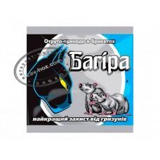 Брикеты от мышей и крыс БАГИРА, 200 гр