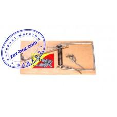 Мышеловка деревянная с наклейкой