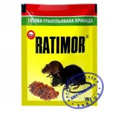 Гранулы от грызунов RATIMOR, 75 гр