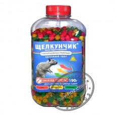 Гранулы от крыс и мышей ЩЕЛКУНЧИК, 190 гр