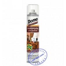Полироль для мебели DOMO с ВОСКОМ, 320 мл