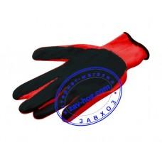 Перчатки рабочие стрейчевые с нитриловым покрытием