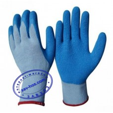 Перчатки рабочие трикотажные, покрытые вспененным латексом