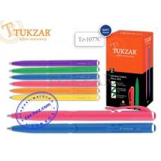 Ручка автоматическая шариковая TUKZAR Tz-1077, 0,7 мм