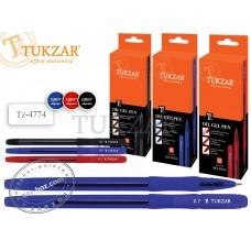 Ручка масляная с грипом TUKZAR BELINGA Tz-4774, 0,7 мм