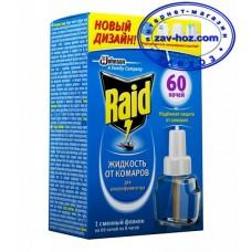 Жидкость от комаров RAID, 60 ночей
