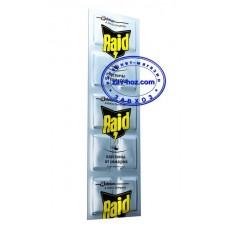 Пластины от комаров RAID без запаха