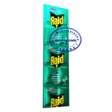 Пластины от комаров RAID эвкалипт