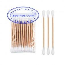 Палочки ватные деревянные № 100