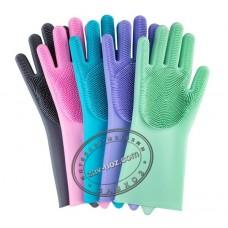 Перчатки силиконовые кухонные