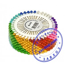 Булавки портновские для шитья цветные, 480шт