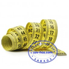 Лента сантиметровая для шитья, 150 см