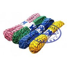 Верёвка бельевая плетёная, 15 метров (3 мм)