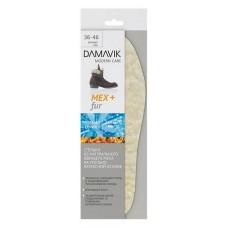 Стельки DAMAVIK, из натурального овечьего меха