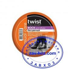 Воск для обуви TWIST, 50 мл