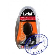 Губка-блеск для обуви  TWISTс дозатором