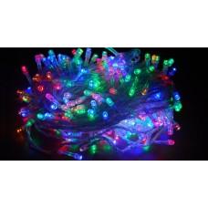 Гирлянда диодная 100 лампочек (силиконовый провод)