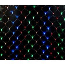 Гирлянда светодиодная СЕТКА, 1,5  x 1,5 м