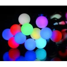 Гирлянда на ёлку ШАРИКИ большие 100 лампочек