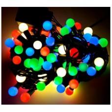 Гирлянда на ёлку ШАРИКИ маленькие 100 лампочек