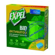 Средство для выгребных ям и дачных туалетов EXPEL таблетки